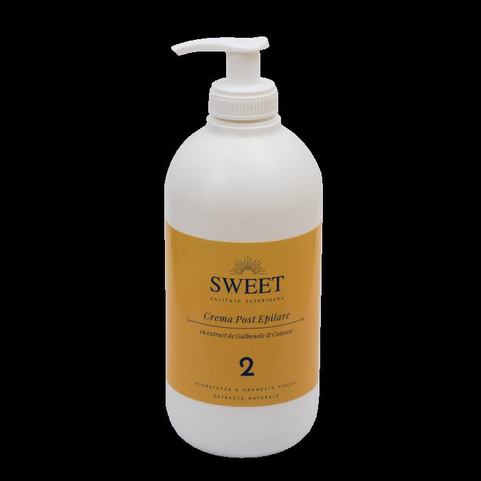Crema post epilare galbenele & coacaze Sweet 500ml