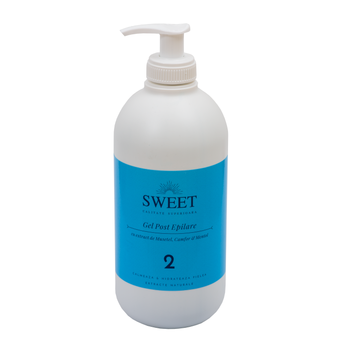 Gel post epilare musetel & camfor & mentol Sweet 500ml